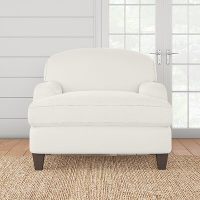 Cheshire Armchair Upholstery: Classic Bleach White