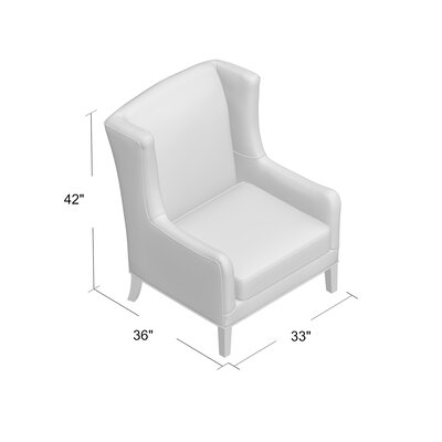 Wolfarth Chair Upholstery: Dunagen Ocean