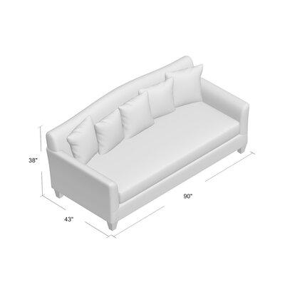 Fairchild Sofa Upholstery: Belshire Pewter