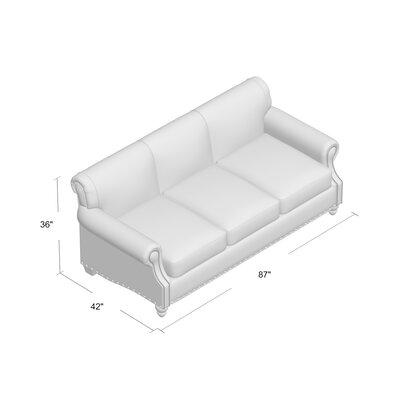 Landry Sofa Upholstery: Oakley Ivory