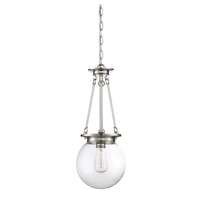 Glencoe Mini Pendant Finish: Polished Nickel