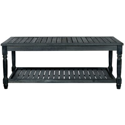 Keyser Coffee Table Color: Dark Slate Gray