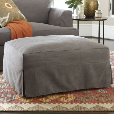 Clausen Ottoman Upholstery: Bayou Natural