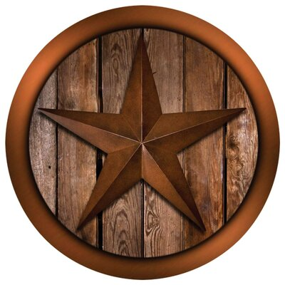 Western Star on Barnwood Occasions Coaster