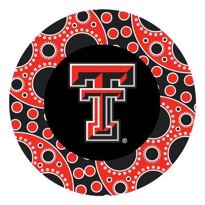 Texas Tech University Circles Collegiate Coaster VTXTCH2