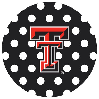 Texas Tech University Dots Collegiate Coaster VTXTCH3