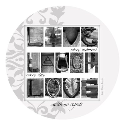 Live Laugh Love Occasions Coaster VJB17