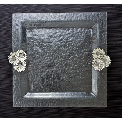 thirstystone Daisy Glass Square Serving Tray at Sears.com
