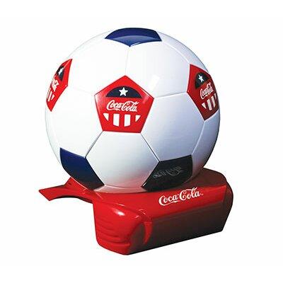 0.25 Qt. Coca Cola Soccer Ball Cooler
