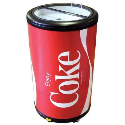 Coca Cola 1.77 cu. ft. Compact Refrigerator CCPC50
