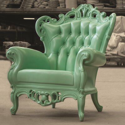 Goodman King Armchair Upholstery: Mint