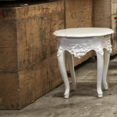 Hardy Side Table Finish: White