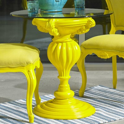 Mann Bistro Table Base Finish: Yellow