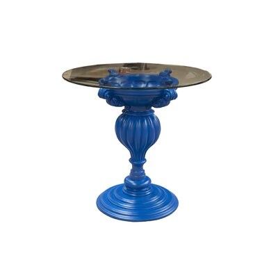 Mann Bistro Table Base Finish: Blue