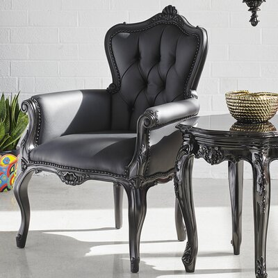 Mccarthy Chair Upholstery: Black