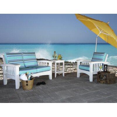 Superb-quality Days End Sunbrella Sofa Set Cushions Color Fabric Brannon wood Product Photo