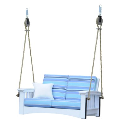 Days End Lounge Rope Porch Swing - Product photo
