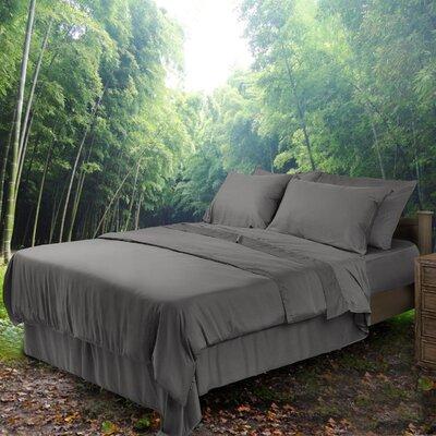 Bondi 300 Thread Count Bamboo Sheet Set Size: California  King, Color: Grey