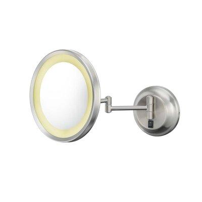 Teixeira Single Sided Makeup/Shaving Mirror Finish: Brushed Nickel LTTN3628 44551079