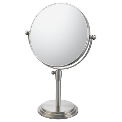 Mirror Image Classic Adjustable Vanity Mirror Finish: Brushed Nickel