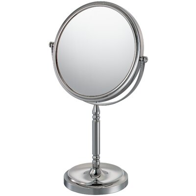 Recessed Base Vanity Mirror Finish: Chrome