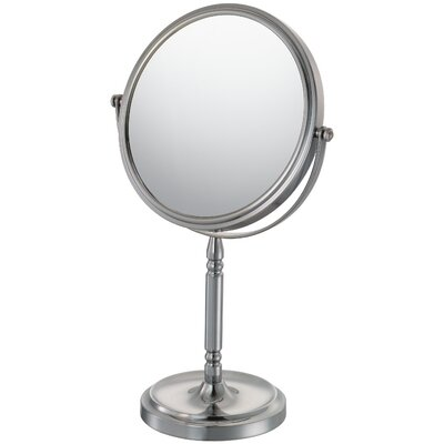 Recessed Base Vanity Mirror Finish: Brushed Nickel