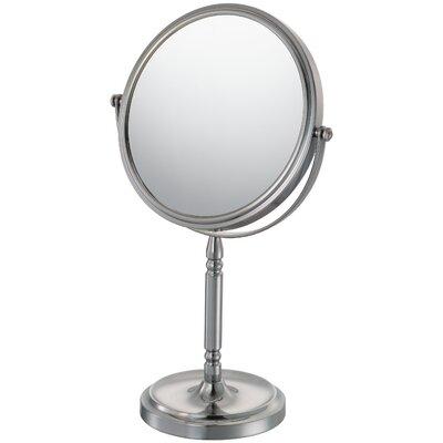 Mirror Image Recessed Base Vanity Mirror Finish: Brushed Nickel