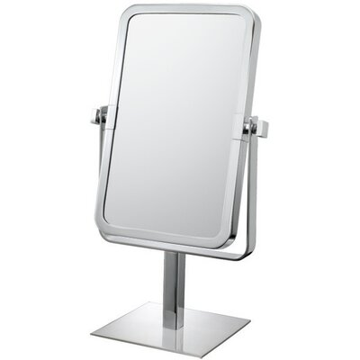 Rectangular Vanity Mirror Finish: Chrome