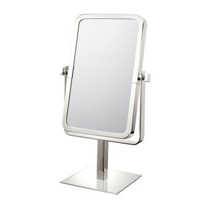 Rectangular Vanity Mirror Finish: Brushed Nickel