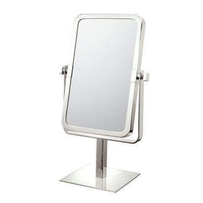 Mirror Image Rectangular Vanity Mirror Finish: Brushed Nickel