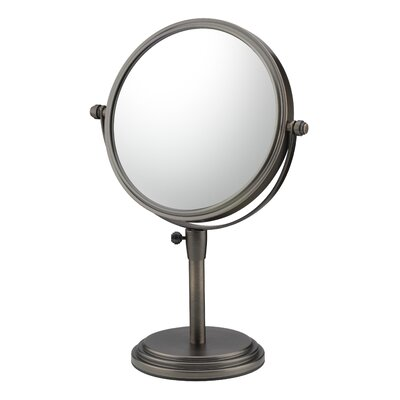Classic Adjustable Vanity Mirror Finish: Italian Bronze