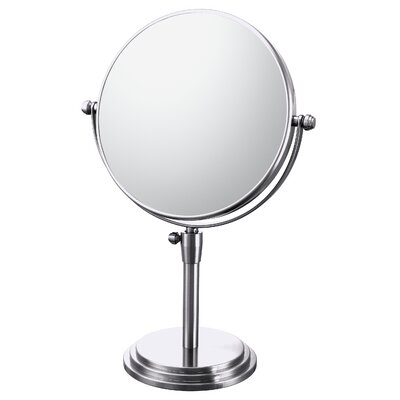 Mirror Image Classic Adjustable Vanity Mirror Finish: Chrome