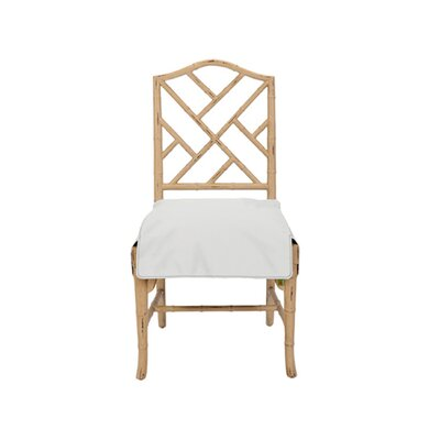 Neat Seat Dining Chair Cover Upholstery: Ivory