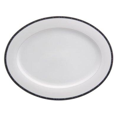 Perennial Indigo Oval Platter