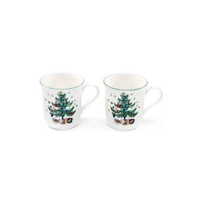 Happy Holidays 10 Oz. Mug (set Of 2)