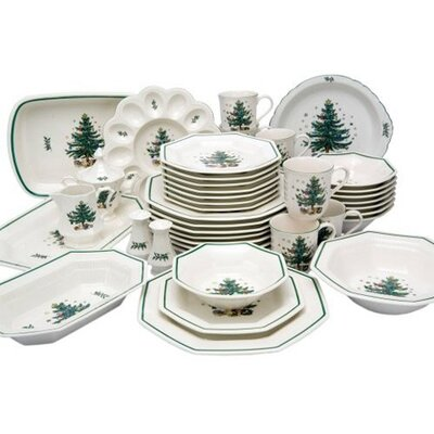 Nikko Ceramics-christmastime Serving Tray With Post Handle
