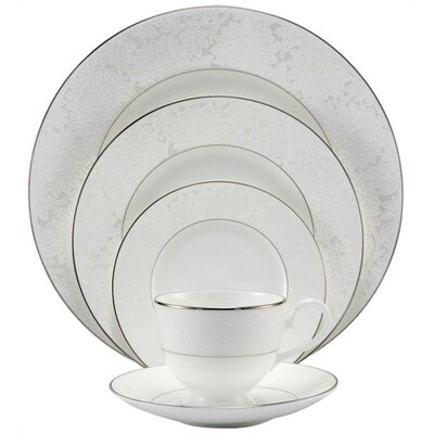 Nikko Ceramics-lace Bouquet  6 Bread And Butter Plate
