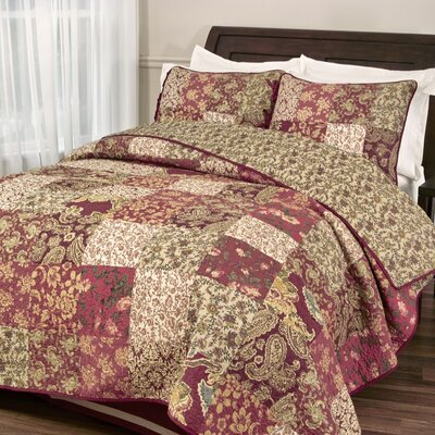 Stanfield Quilt Set Size: Twin