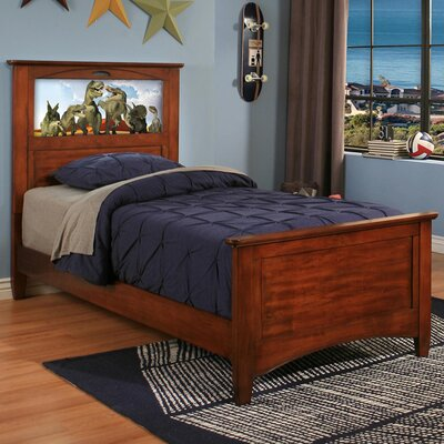 Canterbury Storage Platform Bed Finish: Chestnut, Size: Full