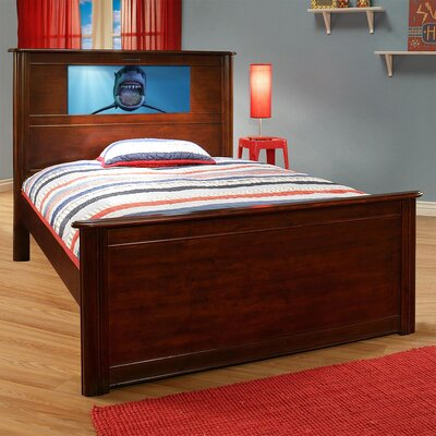 Rivera Storage Platform Bed Finish: Cherry, Size: Full