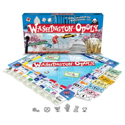 Late For The Sky WashingtonDC-Opoly Board Game at Sears.com