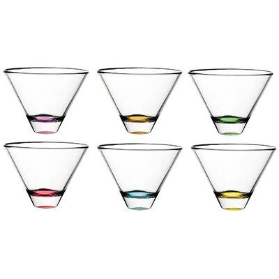 Confetti Lead Free Glass 11 oz. All Purpose Stemless Wine Glass E62233