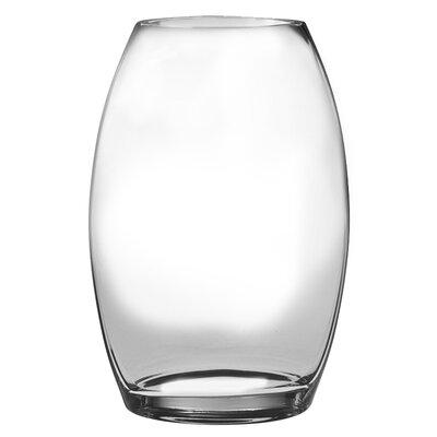 "Classic Clear Vase Size: 8.5"" H x 6"" W x 3.75"" D T-790-8"