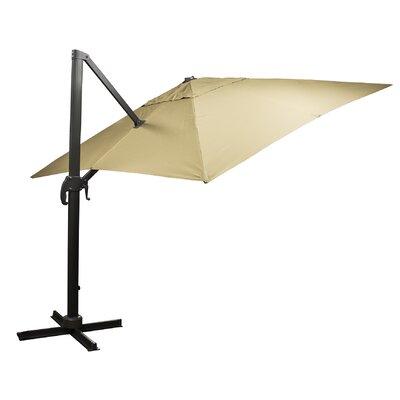9 Square Cantilever Umbrella Fabric: Cream