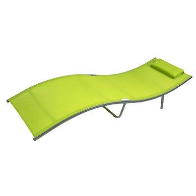 Texaline Chaise Lounge Fabric: Lime Green