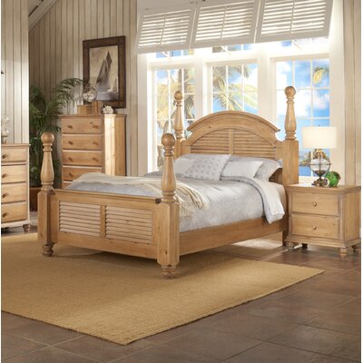 Celaya Four Poster Bed Size: King