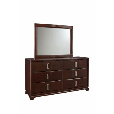 Teitelbaum 6 Drawer Dresser and Mirror
