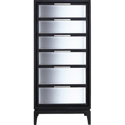 Courtlyn 6 Drawer Lingerie Chest