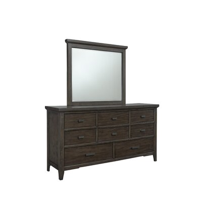 Giana 8 Drawer Dresser with Mirror