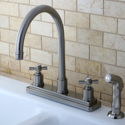 Millennium Centerset Kitchen Faucet Finish: Satin Nickel